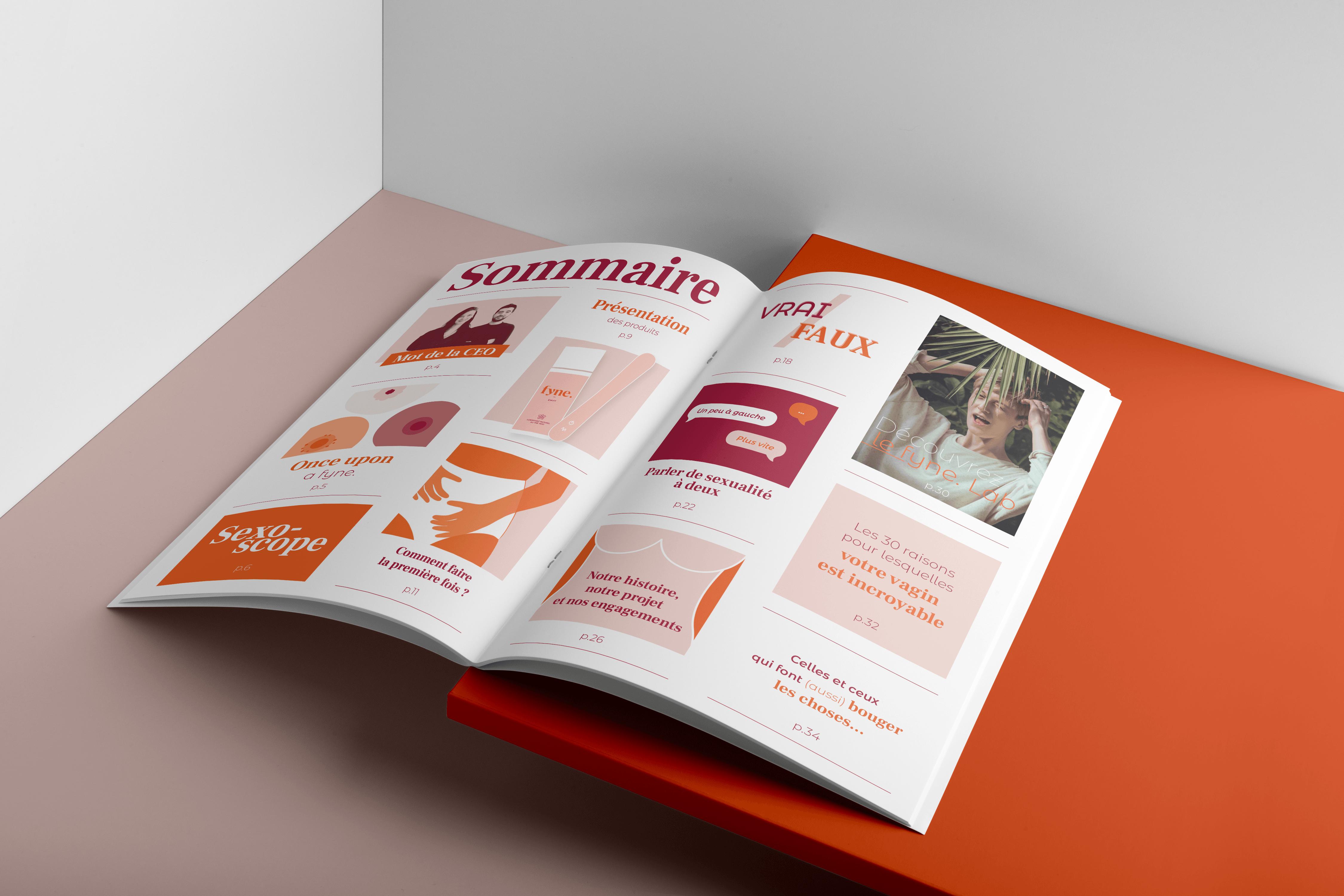 fyne. Magazine Sommaire